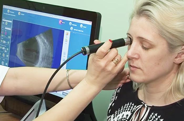 УЗИ глаз в Москве, сделать УЗИ орбиты глаза и глазного яблока за 1210 рублей — Клиника «Доктор рядом»