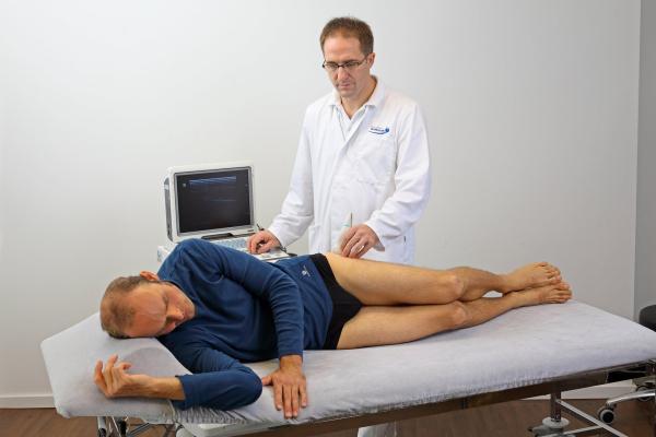 УЗИ тазобедренного сустава у взрослого человека